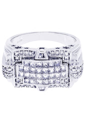 Mens Diamond Ring| 1.49 Carats| 10.81 Grams
