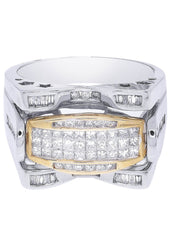 Mens Diamond Ring| 1.19 Carats| 12.19 Grams MEN'S RINGS FROST NYC