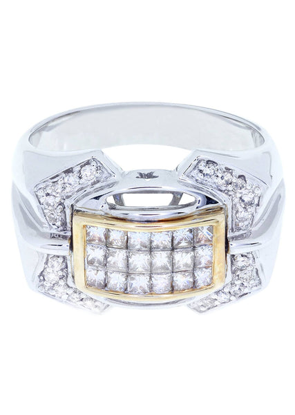 Mens Diamond Ring| 0.19 Carats| 10.01 Grams
