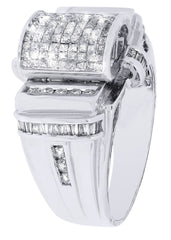 Mens Diamond Ring| 1.61 Carats| 12.16 Grams MEN'S RINGS FROST NYC