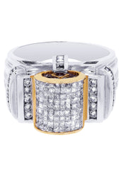 Mens Diamond Ring| 1.56 Carats| 12.32 Grams
