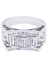 Mens Diamond Ring| 0.78 Carats| 10.64 Grams
