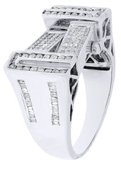 Mens Diamond Ring| 1.22 Carats| 11.83 Grams MEN'S RINGS FROST NYC