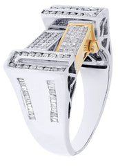 Mens Diamond Ring| 1.21 Carats| 11.74 Grams MEN'S RINGS FROST NYC