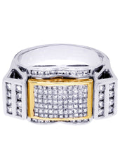 Mens Diamond Ring| 1.41 Carats| 11.41 Grams MEN'S RINGS FROST NYC