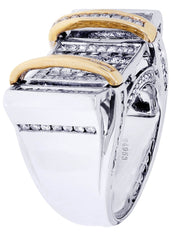 Mens Diamond Ring| 2.73 Carats| 21.09 Grams