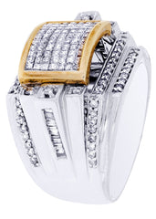 Mens Diamond Ring| 1.46 Carats| 15.16 Grams