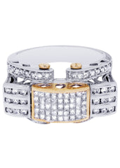 Mens Diamond Ring| 1.37 Carats| 13.37 Grams