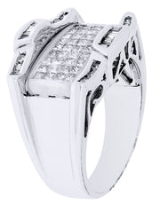 Mens Diamond Ring| 0.93 Carats| 10.63 Grams