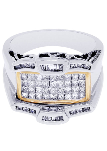 Mens Diamond Ring| 0.15 Carats| 11.55 Grams