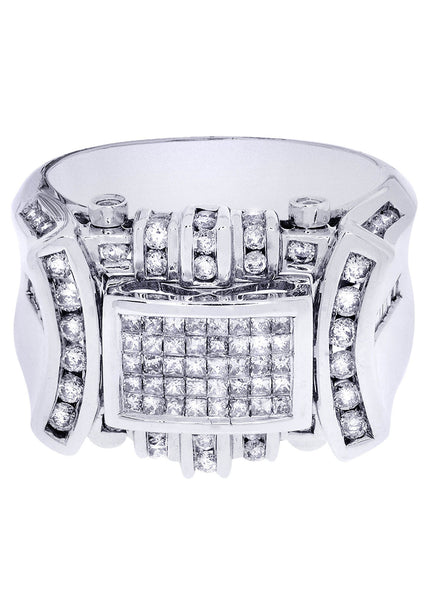 Mens Diamond Ring| 0.15 Carats| 15.75 Grams