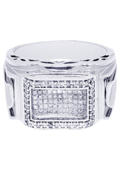 Mens Diamond Ring| 1.2 Carats| 13.75 Grams MEN'S RINGS FROST NYC