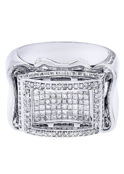 Mens Diamond Ring| 1.2 Carats| 18.26 Grams