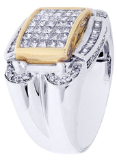 Mens Diamond Ring| 0.22 Carats| 14.17 Grams