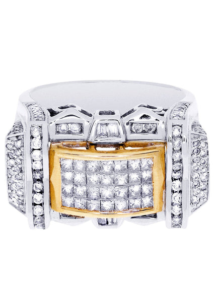 Mens Diamond Ring| 0.72 Carats| 16.76 Grams