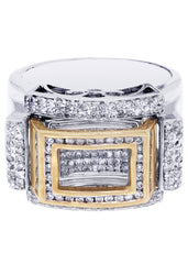 Mens Diamond Ring| 0.9 Carats| 15.49 Grams