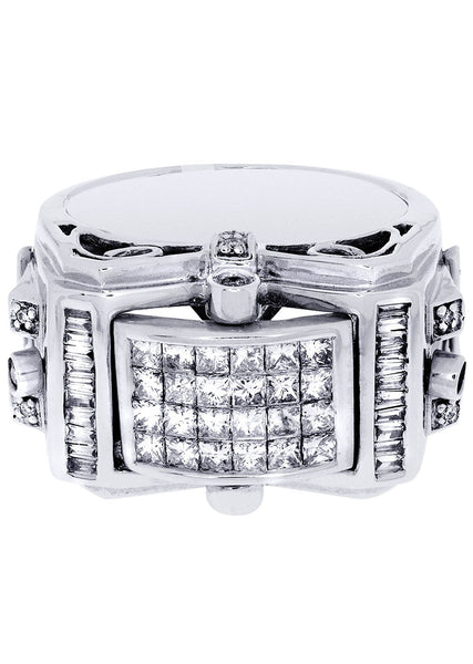 Mens Diamond Ring| 0.17 Carats| 16.9 Grams