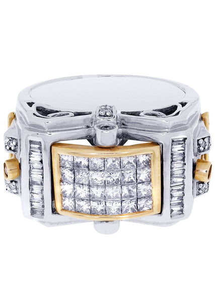 Mens Diamond Ring| 0.17 Carats| 17.34 Grams