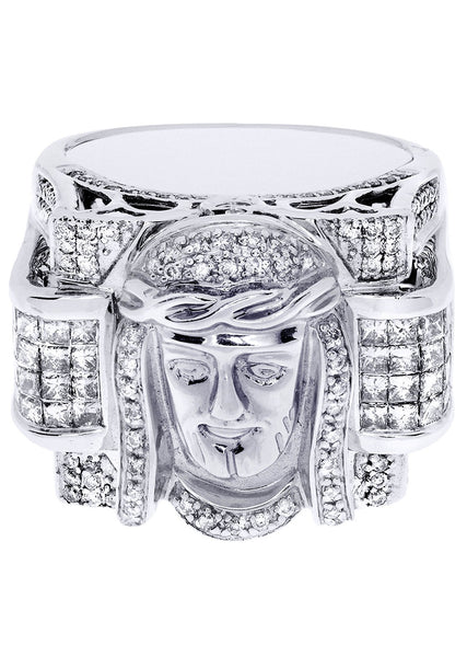 Mens Diamond Ring| 1.17 Carats| 20.29 Grams