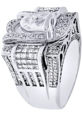 Mens Diamond Ring| 1.17 Carats| 20.29 Grams MEN'S RINGS FROST NYC