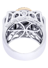 Mens Diamond Pinky Ring| 2.44 Carats| 20.43 Grams