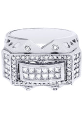 Mens Diamond Ring| 0.31 Carats| 14.52 Grams