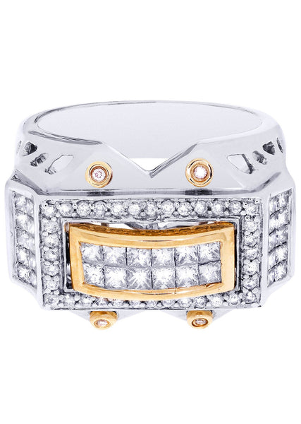 Mens Diamond Ring| 0.36 Carats| 15.35 Grams