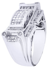 Mens Diamond Ring| 0.63 Carats| 15.04 Grams
