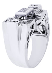 Mens Diamond Ring| 0.16 Carats| 14.01 Grams