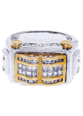 Mens Diamond Ring| 0.52 Carats| 14.49 Grams