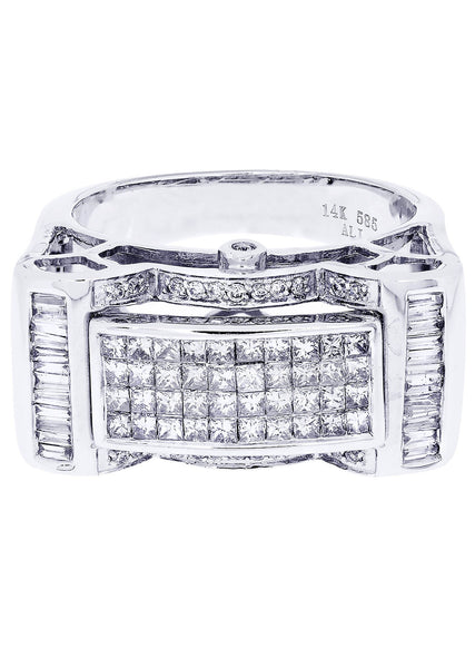 Mens Diamond Ring| 1.08 Carats| 13.06 Grams