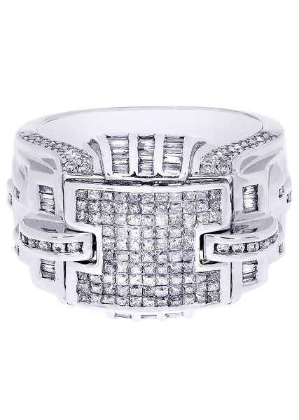 Mens Diamond Ring| 0.6 Carats| 13.73 Grams