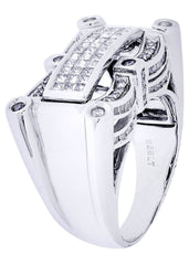 Mens Diamond Ring| 0.45 Carats| 15.47 Grams MEN'S RINGS FROST NYC