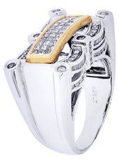 Mens Diamond Ring| 0.45 Carats| 15.35 Grams