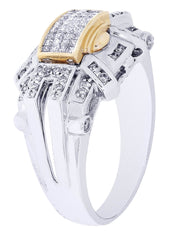 Mens Diamond Ring| 0.33 Carats| 8.69 Grams