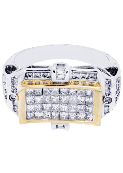 Mens Diamond Ring | 0.64 Carats| 9.05 Grams