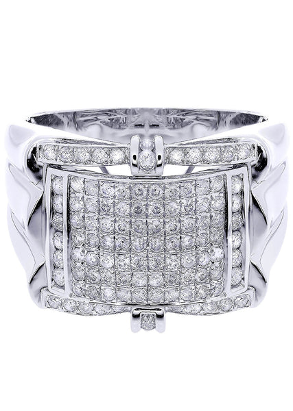 Mens Diamond Ring| 0.95 Carats| 11.27 Grams