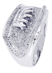 Mens Diamond Ring| 1.47 Carats| 15.44 Grams