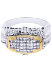 Mens Diamond Ring| 0.16 Carats| 9.3 Grams MEN'S RINGS FROST NYC