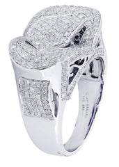 Mens Diamond Ring| 2.4 Carats| 12.78 Grams