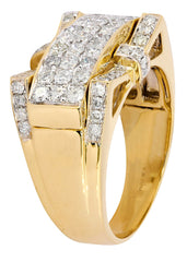 Mens Diamond Pinky Ring| 1.59 Carats| 10 Grams