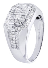 Mens Diamond Ring| 0.76 Carats| 10.48 Grams