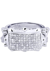Mens Diamond Ring| 0.87 Carats| 12.57 Grams MEN'S RINGS FROST NYC
