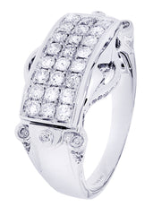 Mens Diamond Ring| 1.22 Carats| 8.52 Grams