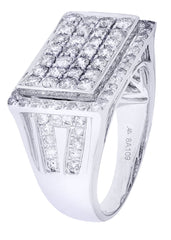Mens Diamond Ring| 1.87 Carats| 10.36 Grams