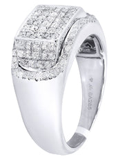 Mens Diamond Ring| 0.95 Carats| 9.49 Grams