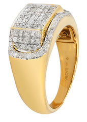 Mens Diamond Pinky Ring| 0.86 Carats| 8.93 Grams