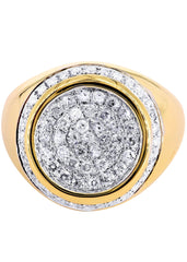 Mens Diamond Pinky Ring| 1.02 Carats| 9.79 Grams