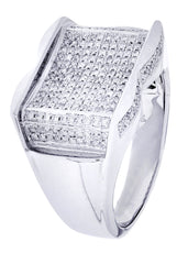 Mens Diamond Ring| 0.71 Carats| 11.26 Grams MEN'S RINGS FROST NYC