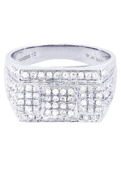 Mens Diamond Ring| 0.92 Carats| 9.52 Grams MEN'S RINGS FROST NYC